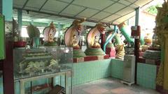 スネーク パゴダ Snake Pagod Mandalay Myanmar 写真 Photo 中 Inside