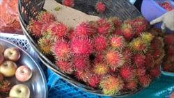 mawlamyine fruits market photo
