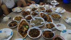 Myanmar house food