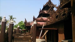 Shwenandaw Monastery Mandalay Myanmar Travel