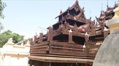 Shwenandaw Monastery Mandalay Myanmar Travel photo
