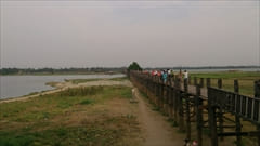 U Bein Bridge photo mandalay