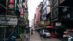 China Town yangon BBQ Barbecue Travel